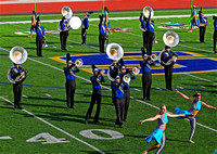 The Pride of Piedmont Marching Band