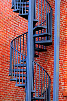 Museum Staircase, Guthrie OK