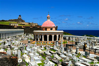 Cemetery at Fort El Morro, San Juan PR